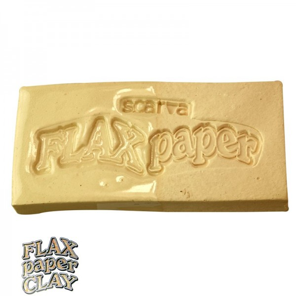ES400 Flax Paper Clay White Earthenware